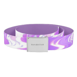 Purple Waves Belt
