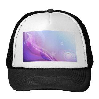 Purple Waves Trucker Hats