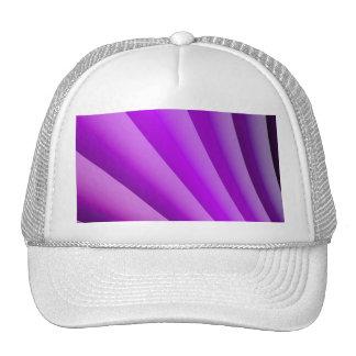 Purple Waves of Pain Art Cap
