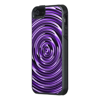 Purple Waves OtterBox iPhone 5/5s/SE Case