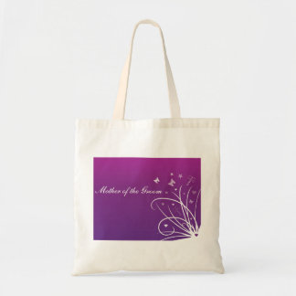 Purple Wedding Favour Bag for Mother of the Groom