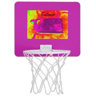 purple whale yellow Thunder_Cove Mini Basketball Hoop