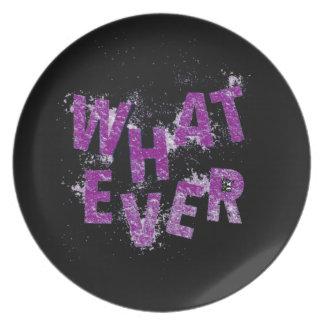 Purple Whatever Plate