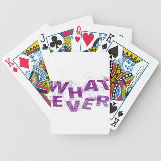 Purple Whatever PNG Bicycle Playing Cards