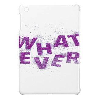 Purple Whatever PNG iPad Mini Case