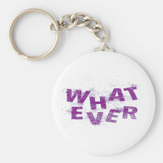 Purple Whatever PNG Key Ring