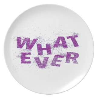 Purple Whatever PNG Plate