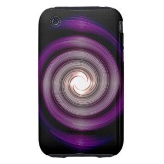 Purple Whirlpool iPhone 3G/3GS Case-Mate Tough™ Ca iPhone 3 Tough Case