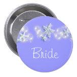 Purple white beach bride bridal