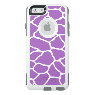 Purple White Giraffe Print OtterBox iPhone 6/6s OtterBox iPhone 6/6s Case