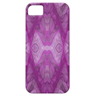Purple & White iPhone 5 Custom Case-Mate ID iPhone 5 Case