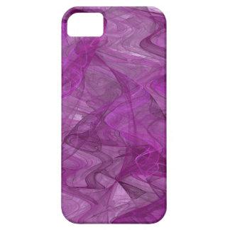 Purple & White iPhone 5 Custom Case-Mate ID iPhone 5 Cover