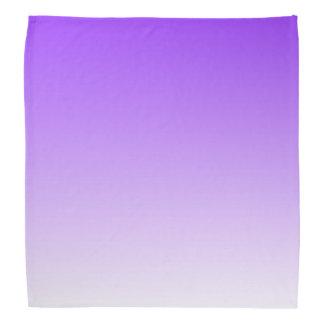 Purple White Ombre Bandana