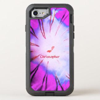 Purple White Pink Blue Ocean Jellyfish Custom OtterBox Defender iPhone 8/7 Case