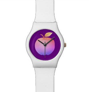 Purple White Simple Minimalistic Vibrant Apple Watch