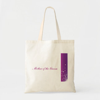 Purple White Wedding Bag Mother of the groom