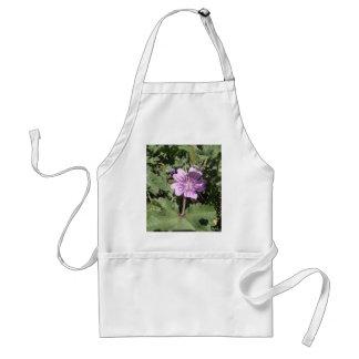 Purple Wild Flower Apron