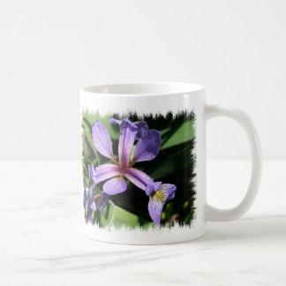 Purple Wild Iris  Mug