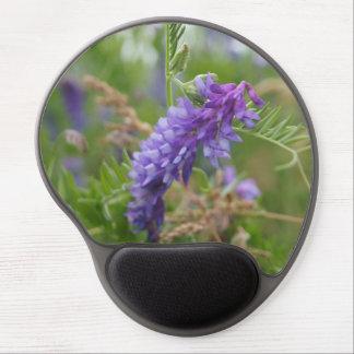 Purple Wildflower Gel Mousepad