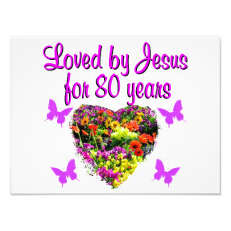 PURPLE WILDFLOWER LOVED BY JESUS FOR 80 YEARS PHOTO