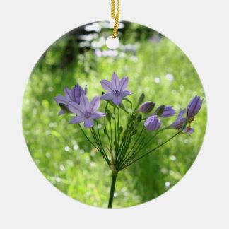 Purple Wildflower Ornament