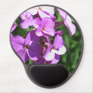 Purple Wildflowers Gel Mouse Pad