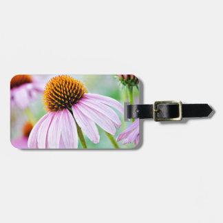 Purple Wildflowers Luggage Tag