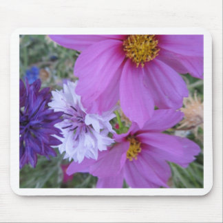 purple wildflowers mouse pads