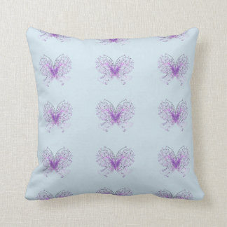 Purple Wings Cushion