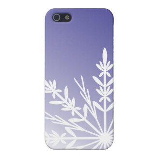 Purple Winter Snowflake Case For The iPhone 5
