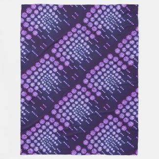 Purple Wisteria Flower Garden Japanese Tree Bold Fleece Blanket