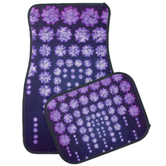 Purple Wisteria Flower Garden Japanese Tree Bold Floor Mat