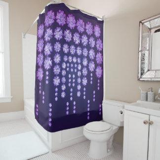Purple Wisteria Flower Garden Japanese Tree Bold Shower Curtain