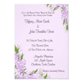 Purple Wisteria  Wedding Invitations