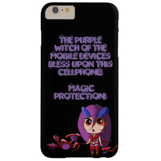 Purple witch barely there iPhone 6 plus case