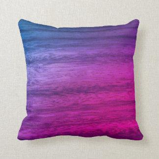 Purple Wood Texture Cushion