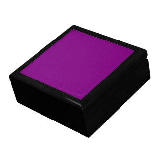 Purple Wooden Gift Box