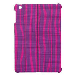 Purple Wooden Grunge Background iPad Mini Covers