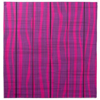 Purple Wooden Grunge Background Napkin