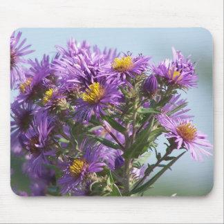 Purple&Yellow Wildflower#1 Mouse Pad