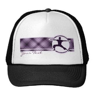 Purple Yoga Trucker Hats