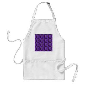 Purple Zebra Print Standard Apron