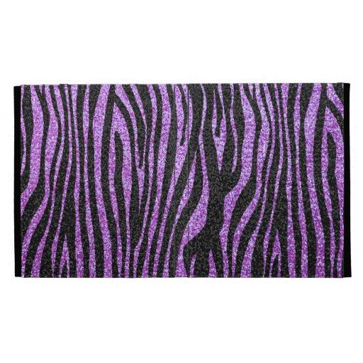 Purple zebra pattern
