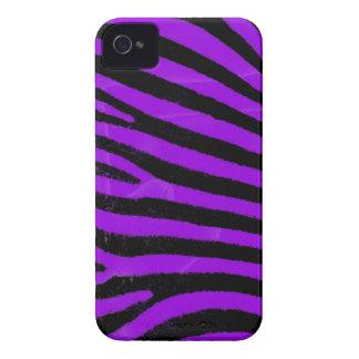 Purple zebra stripes iPhone 4 Case-Mate ID™