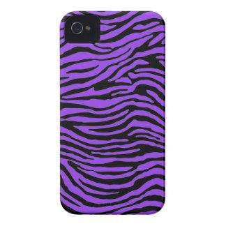 purple zebra stripes iPhone 4 cases