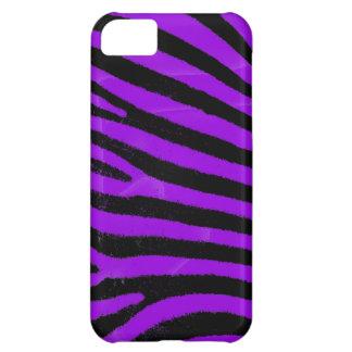 Purple zebra stripes iPhone 5 Case-Mate ID™