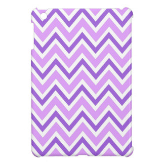 Purple zigzag chevron pattern chic trendy case for the iPad mini