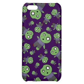 Purple zombies cover for iPhone 5C