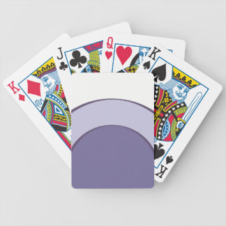 PurpleInLilac Dots Bicycle Playing Cards