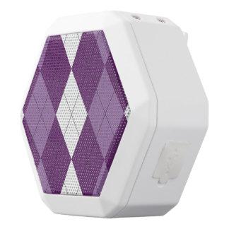 PurpleOne Argyle Boombot White Boombot Rex Bluetooth Speaker